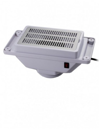Dust extractor for manicure table