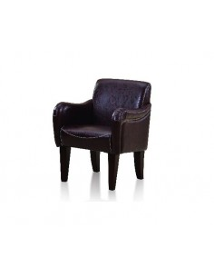 Styling chair Mexico, brown