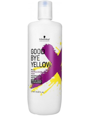 Goodbye Yellow šampūns silto toņu...