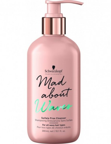 Mad About Waves sulfate free cleanser...