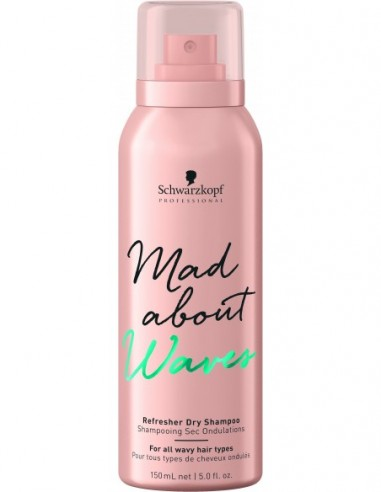 Mad About Waves refresher dry shampoo...