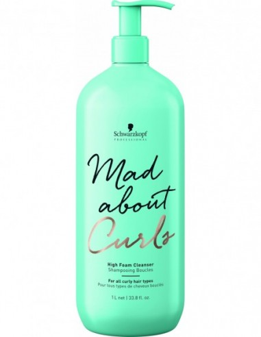 Mad About Curls high foam cleanser...