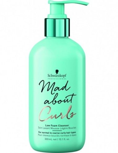 Mad About Curls low foam cleanser 300мл