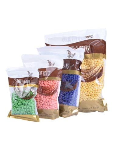 Solid wax, beads, Milk 300gr