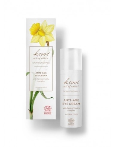 Anti-age eye cream with Spring...