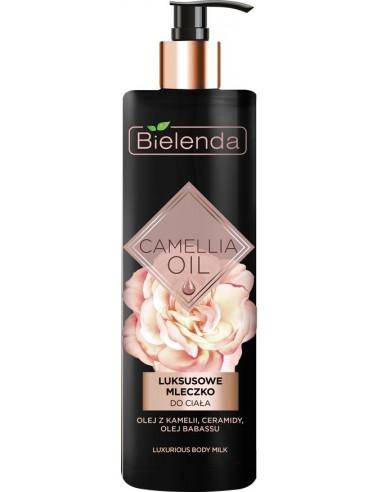CAMELLIA OIL Body Milk, luxury, for...