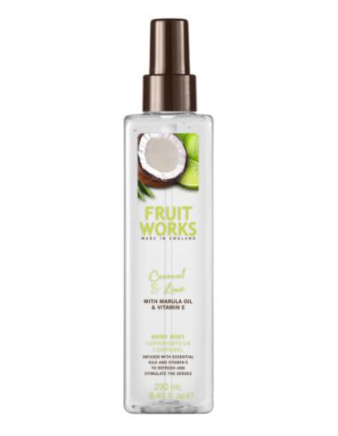 FRUIT WORKS Body Mist Coconut &amp,...