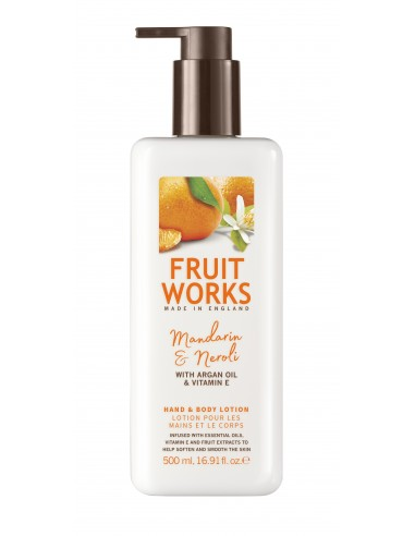 FRUIT WORKS Hand and Body Lotion,...