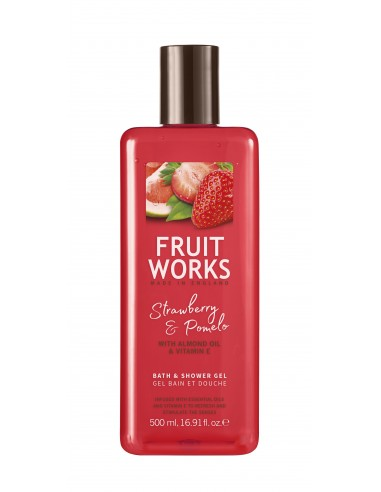 FRUIT WORKS Shower and bath gel,...