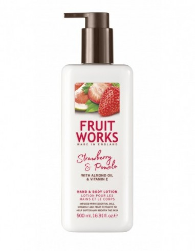 FRUIT WORKS Lotion for hands and...