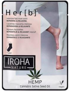 IROHA Foot socks mask,...