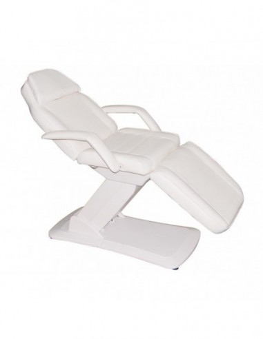 Beauty bed with 3 motors Rovoli-3, white