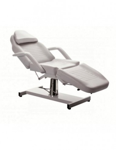 Beauty bed with hydraulic height...