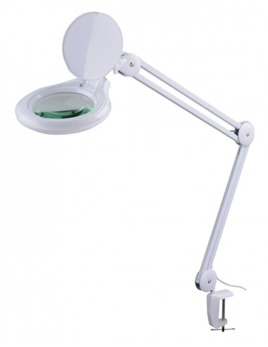 Magnifying lamp with table fixation,...