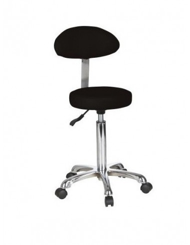 Beautician stool with back rest...