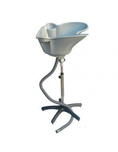 Portable hairdressing sink Acrus, silver