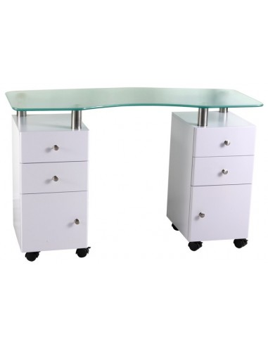 Manicure table Double Station 2a