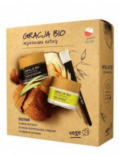GRACJA BIO Facial care kit:...