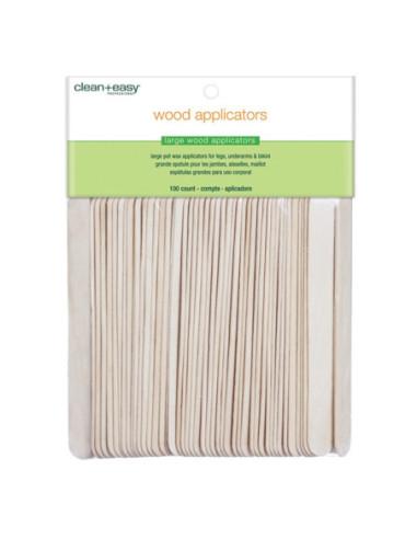 Wood Applikator Sticks (Large) 100 pcs.