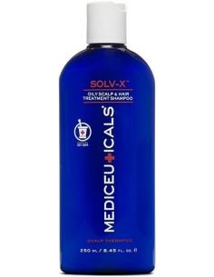 SOLV-X  Šampūns  taukainai...