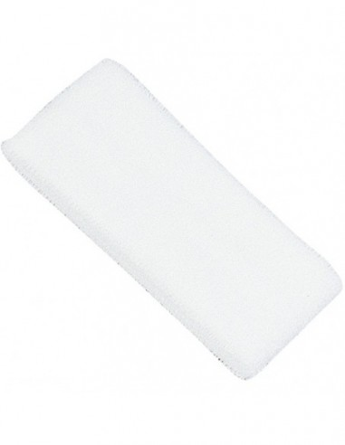 Headband, terry, white, 1 pc
