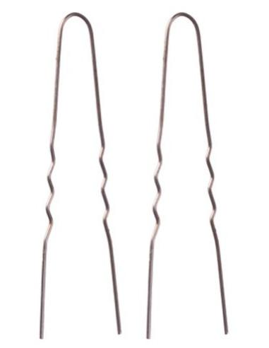 Bobby pins, 49mm, wavy, brown 200gr